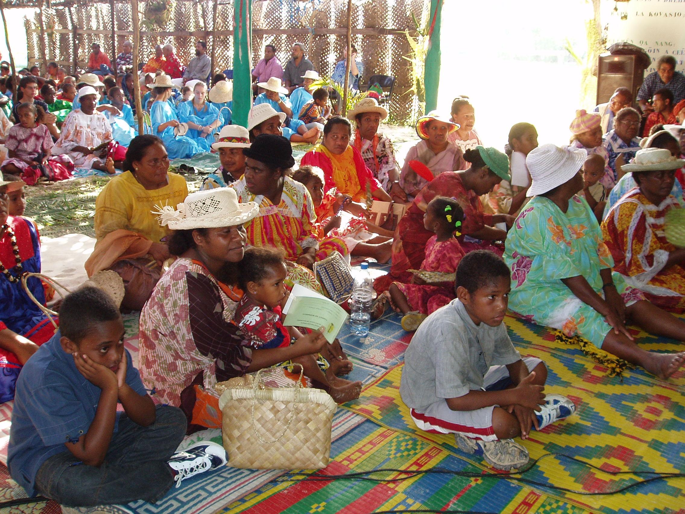 Réunion d'Église en Nouvelle Calédonie